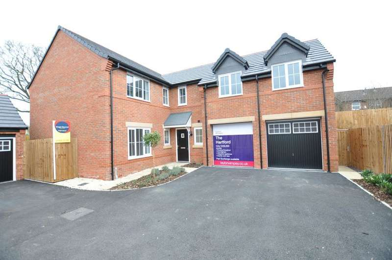 4 Bedrooms Detached House for sale in LAST REMAINING PLOT - Plough Close, Tarporley, Cheshire, CW6 9LS