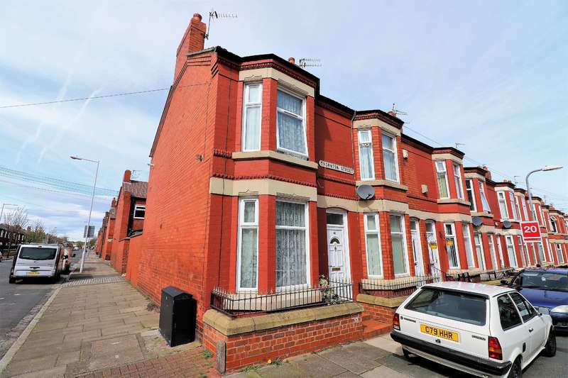 2 Bedrooms End Of Terrace House for sale in Thornton Street, Birkenhead, CH41 0BE