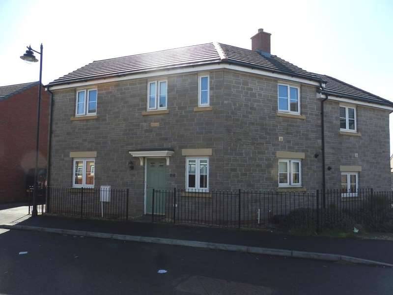 3 Bedrooms Semi Detached House for sale in Ffordd Y Grug, Coity, Bridgend