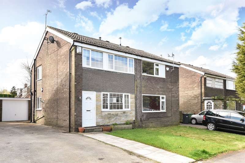 3 Bedrooms Semi Detached House for sale in Primley Park Drive, Alwoodley, Leeds, LS17 7LR