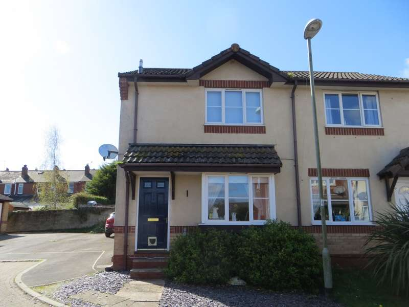 2 Bedrooms Semi Detached House for sale in Jupes Close, Exeter