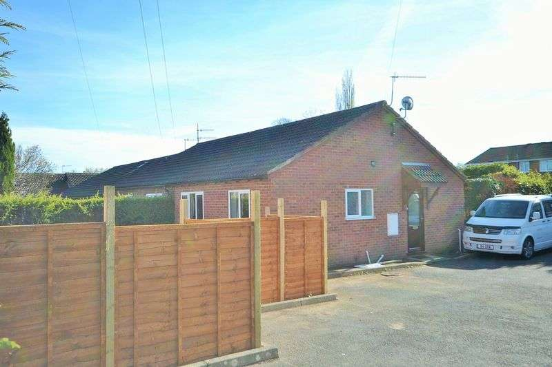 2 Bedrooms Semi Detached Bungalow for sale in Meadow Rise, Tenbury Wells