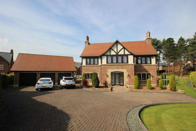 5 Bedrooms Detached House for sale in The Plantations, Wynyard, Billingham