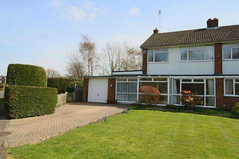 3 Bedrooms Semi Detached House for sale in Shepherds Walk, Hassocks, West Sussex.
