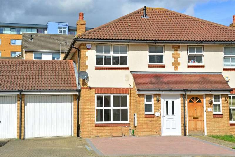 3 Bedrooms Semi Detached House for sale in Ware Point Drive, Thamesmead, London, SE28