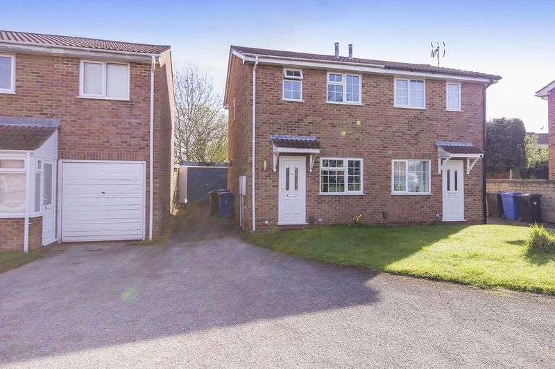 2 Bedrooms Semi Detached House for sale in SIMCOE LEYS, CHELLASTON