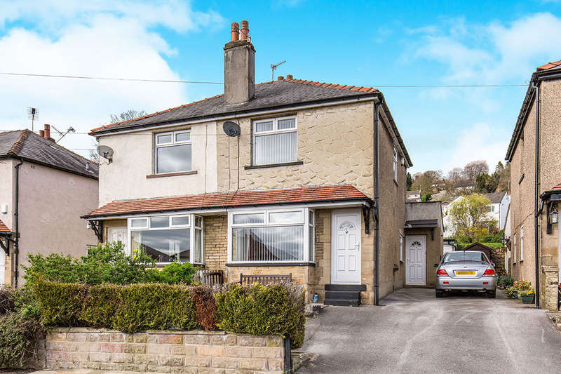 3 Bedrooms Semi Detached House for sale in Grange Crescent, Riddlesden, Keighley, BD20