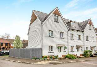 4 Bedrooms Town House for sale in The Squires, Pease Pottage, Crawley, West Sussex