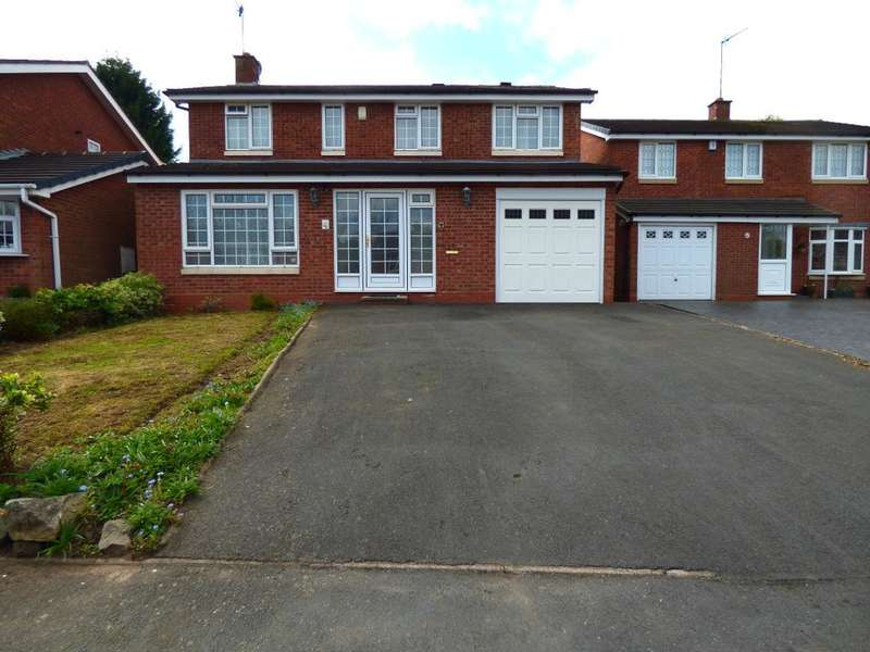 5 Bedrooms Detached House for sale in Camino Road, Harborne, Birmingham, B32 3XE