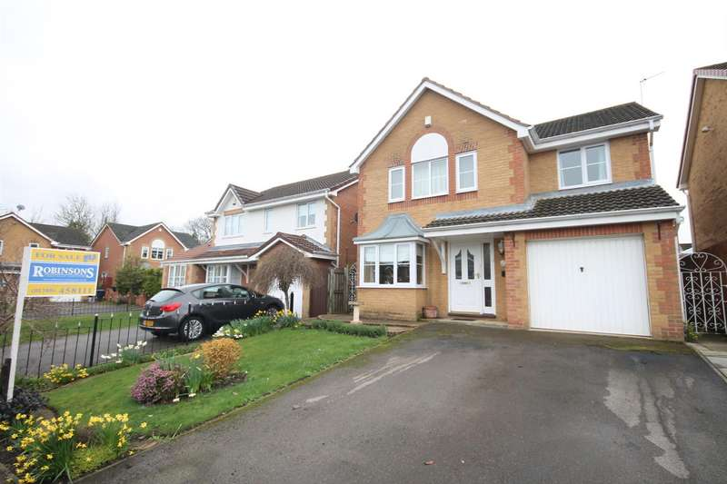 4 Bedrooms Property for sale in Clover Drive, Etherley Dene, Bishop Auckland