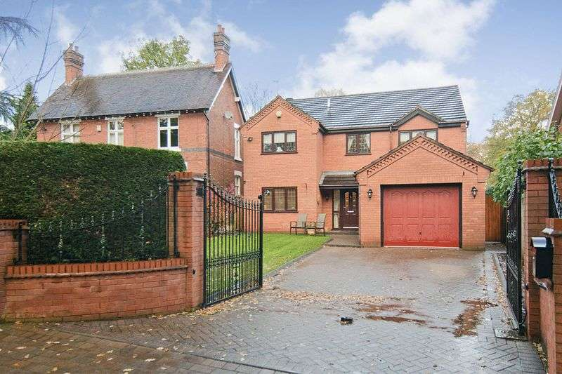 4 Bedrooms Detached House for sale in Chaseley Road, Etchinghill, Rugeley