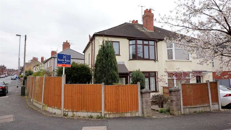 3 Bedrooms Semi Detached House for sale in St. Georges Avenue, Wolstanton, Newcastle