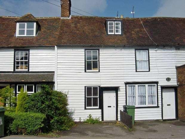 2 Bedrooms Cottage House for sale in Chestnut Cottages, High Street, Staplehurst, Kent TN12 0AB