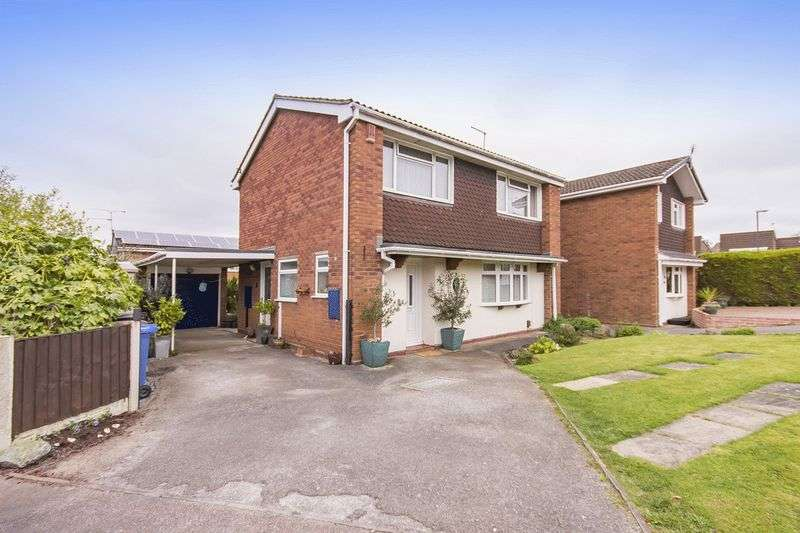 4 Bedrooms Detached House for sale in TIVERTON CLOSE, MICKLEOVER