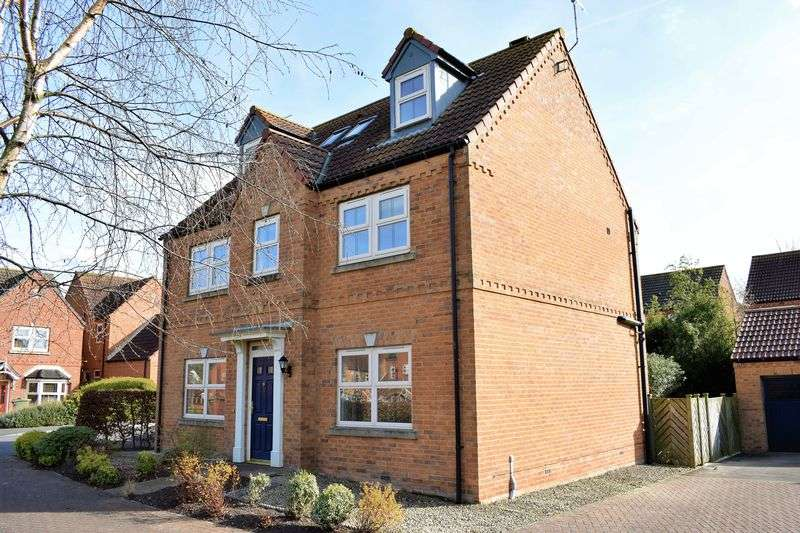 5 Bedrooms Detached House for sale in Wood Farm Close, Nettleton