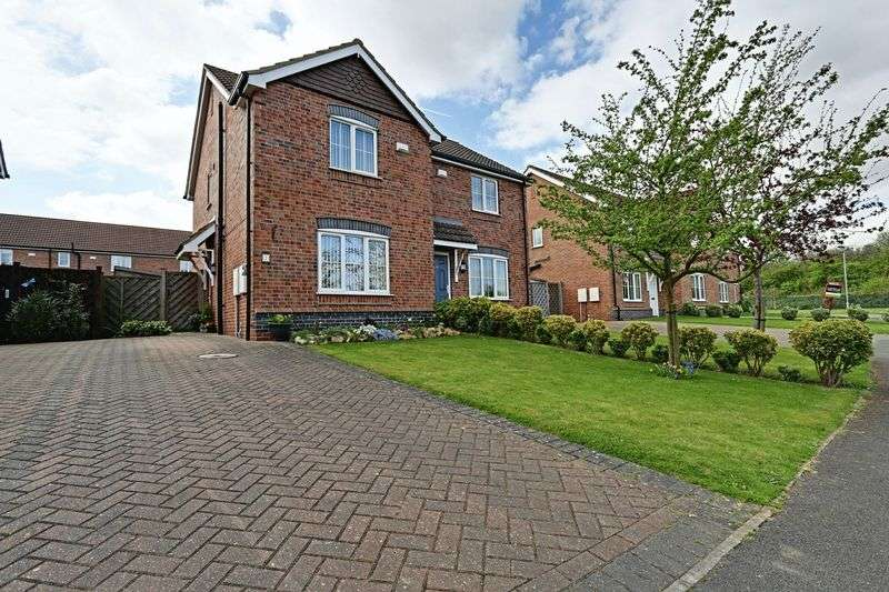 2 Bedrooms Semi Detached House for sale in Lapwing Way, Barton-Upon-Humber