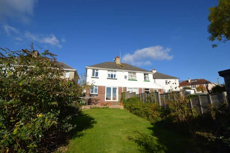3 Bedrooms Semi Detached House for sale in Netley Road, Newton Abbot, TQ12