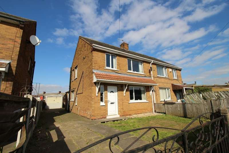 3 Bedrooms Semi Detached House for sale in Violet Avenue, Edlington, Doncaster, DN12