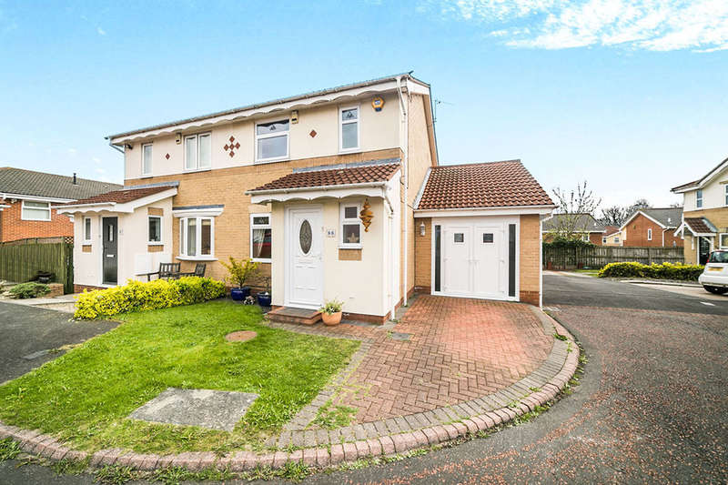 3 Bedrooms Semi Detached House for sale in Gardner Park, North Shields, NE29
