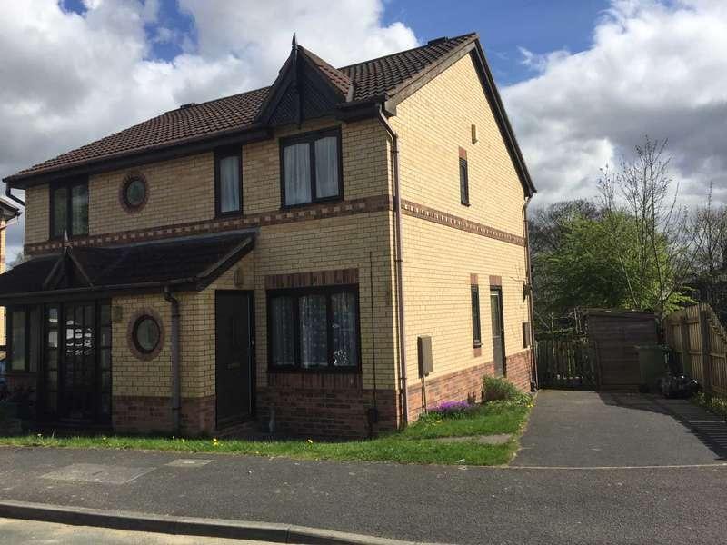 2 Bedrooms Semi Detached House for sale in Millbrook Gardens, Dewsbury