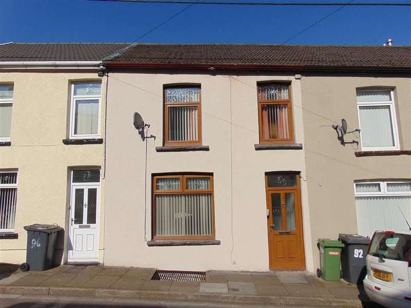3 Bedrooms Terraced House for sale in Woodfield Terrace, Mountain Ash