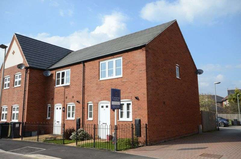 2 Bedrooms Terraced House for sale in Kohima Crescent, Saighton, Chester