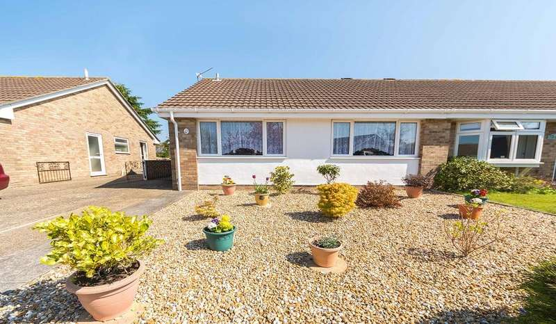 2 Bedrooms Semi Detached Bungalow for sale in Spenser Close, Warsash, Southampton SO31