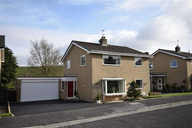 4 Bedrooms Detached House for sale in Gorrell Close, Newchurch In Pendle, Lancashire