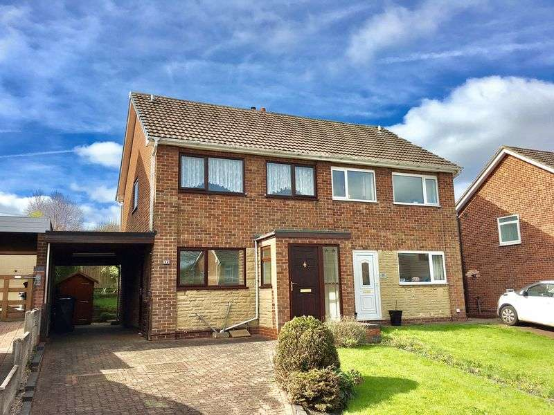 3 Bedrooms Semi Detached House for sale in Laburnum Road, Swadlincote