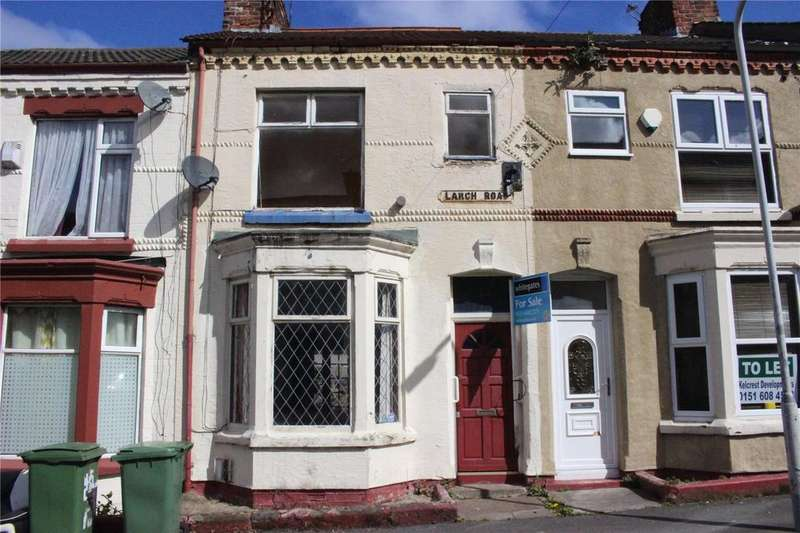 3 Bedrooms Terraced House for sale in Larch Road, Birkenhead, Merseyside, CH42