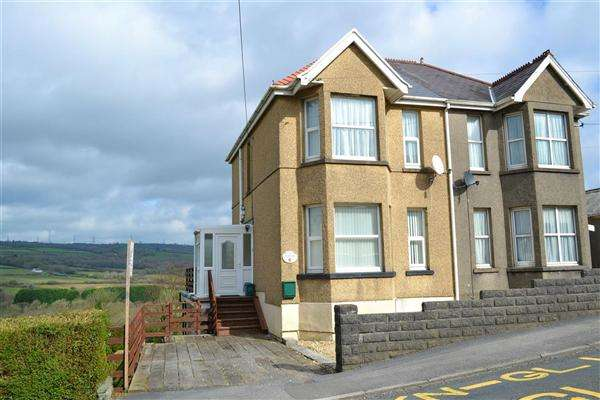 3 Bedrooms Semi Detached House for sale in Heol Llanelli, South Carmarthenshire, Pontyates