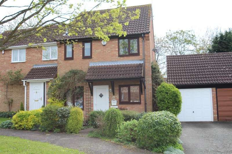 3 Bedrooms Semi Detached House for sale in Audley Mead, Bradwell, Milton Keynes