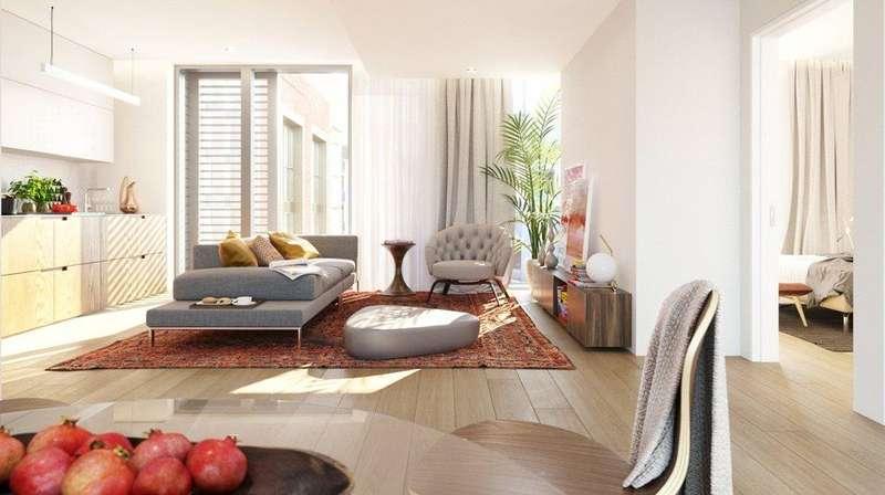 1 Bedroom Flat for sale in Barts Square, 56 West Smithfield, Smithfield Market, London, EC1A