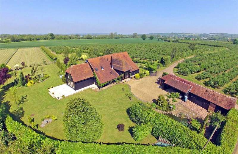 4 Bedrooms Detached House for sale in Water Lane, Hunton, Kent, ME15