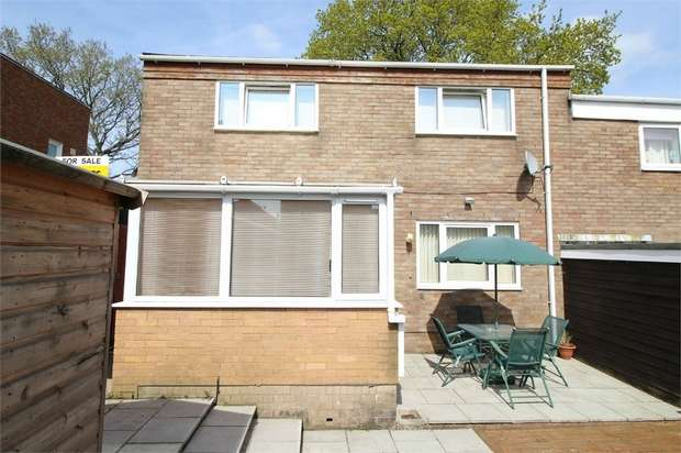 2 Bedrooms End Of Terrace House for sale in Stiels, Coed Eva, CWMBRAN