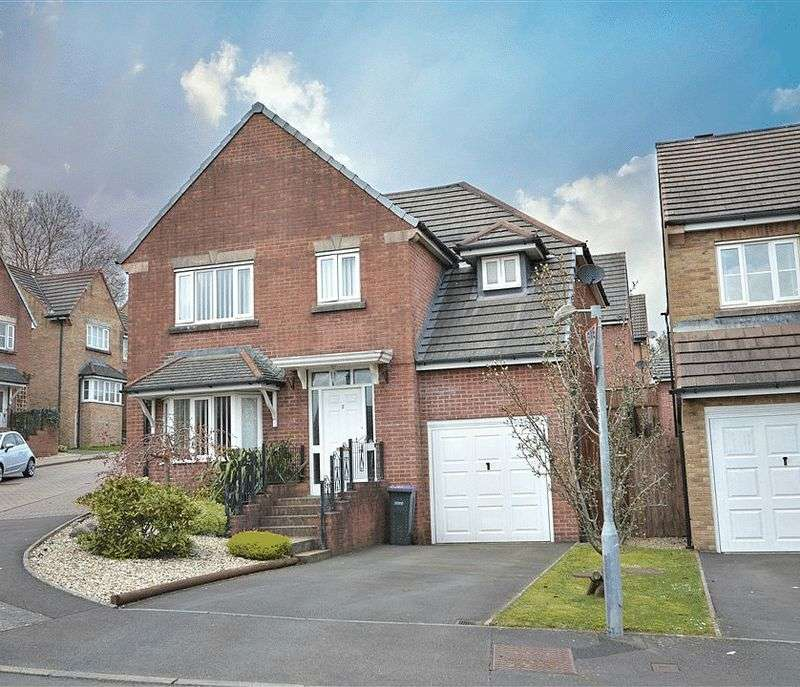 4 Bedrooms Detached House for sale in Museum Court, Pontypool