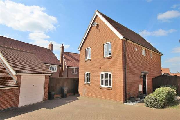4 Bedrooms Detached House for sale in Mill Park Drive, Braintree, Essex