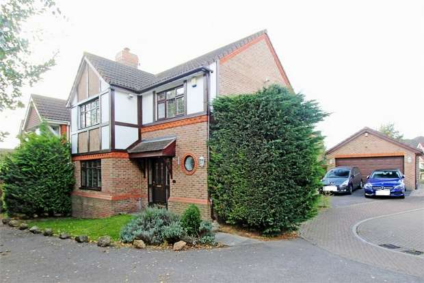 4 Bedrooms Detached House for sale in Balas Drive, Sittingbourne, Kent