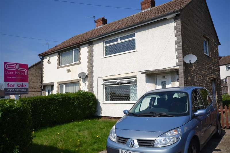 2 Bedrooms Semi Detached House for sale in The Drive, Kippax