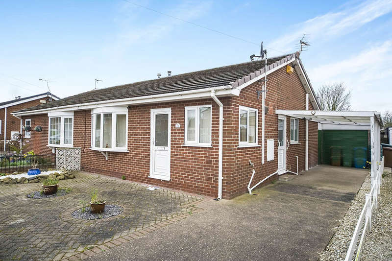 2 Bedrooms Semi Detached Bungalow for sale in Ullswater Grove, Goole, DN14