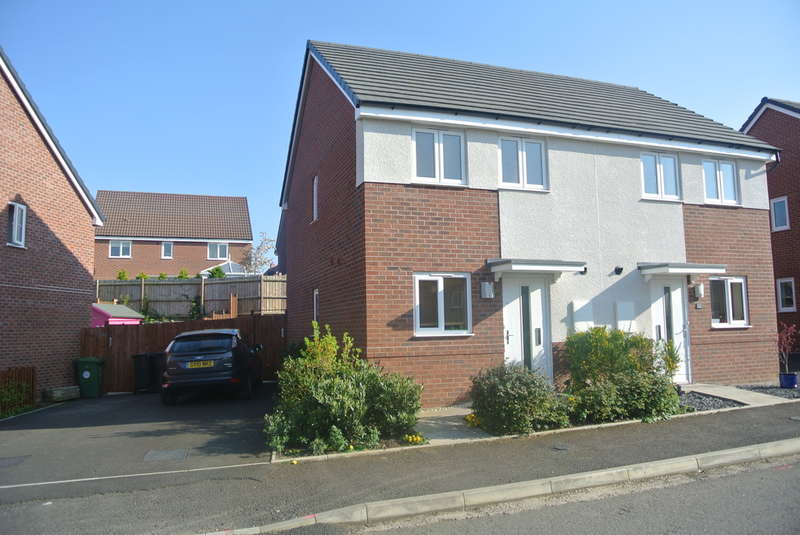 2 Bedrooms Semi Detached House for sale in Laxton Crescent, Evesham