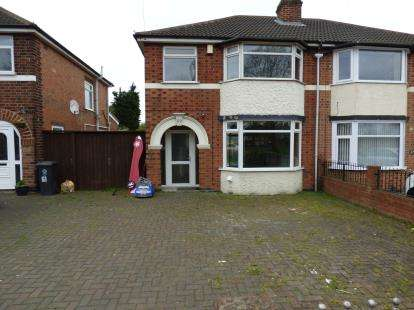 3 Bedrooms Semi Detached House for sale in Stonesby Avenue, Aylestone, Leicester, Leicestershire