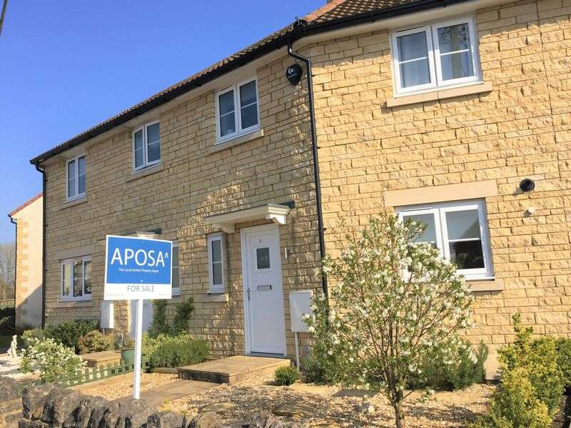 2 Bedrooms Terraced House for sale in Greenacres, Compton Road, Shepton Mallet