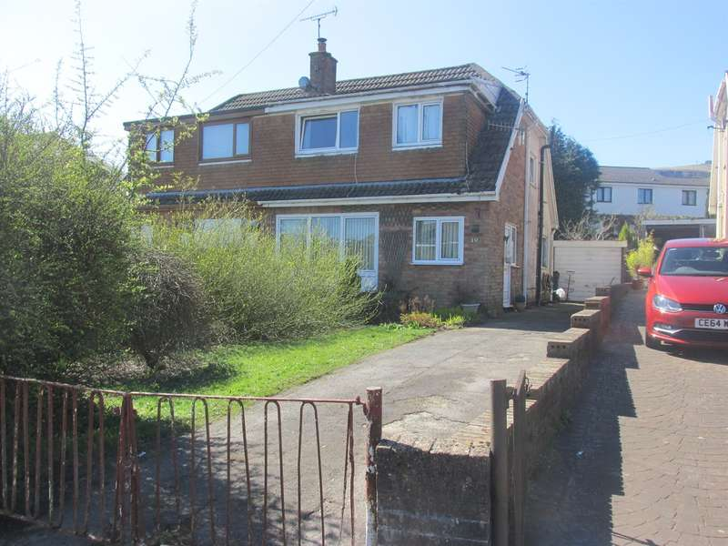 3 Bedrooms Semi Detached Bungalow for sale in Chester Close, Heolgerrig, Merthyr Tydfil