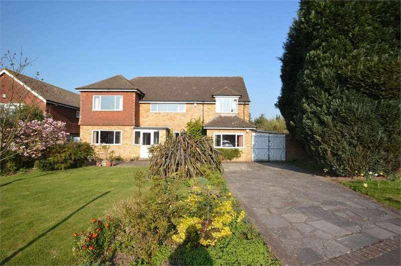 5 Bedrooms Detached House for sale in Sallows Shaw, Sole Street, Cobham