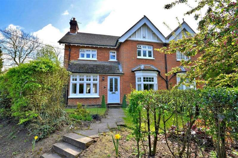 4 Bedrooms Semi Detached House for sale in 20 Walden Road, Sewards End, Nr Saffron Walden