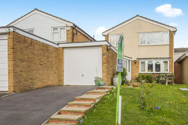 3 Bedrooms Detached House for sale in Edgehill Close, Great Glen, Leicester, LE8