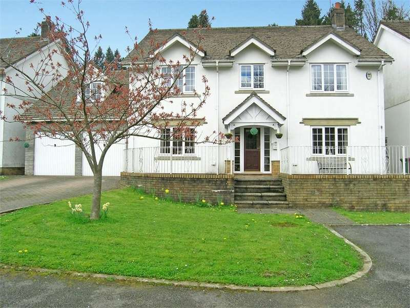 5 Bedrooms Detached House for sale in Draethen, Draethen, Newport