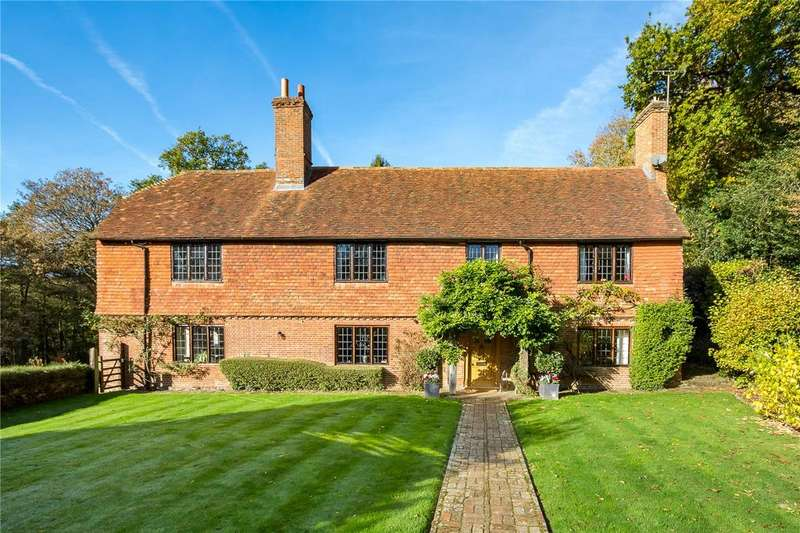 5 Bedrooms Detached House for sale in Upper Vann Lane, Hambledon, Surrey