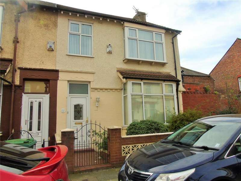 3 Bedrooms Semi Detached House for sale in Albany Road, Walton, Liverpool, Merseyside, L9